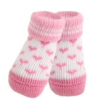 Носочки для собак Puppia ANGEL HEART розовые