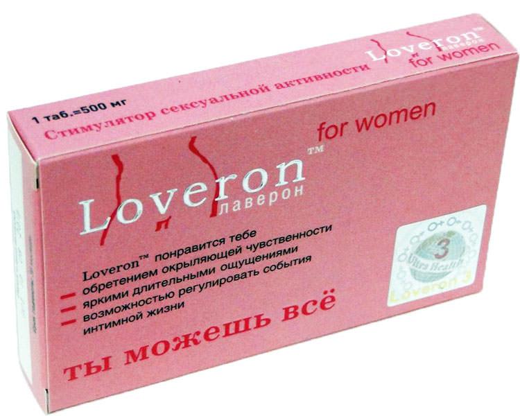 Лаверон Ультра для женщин таблетки 500 мг 3 шт.