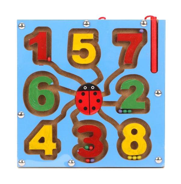 Логическая игра Наша Игрушка Магнитный лабиринт Математика LY2018072601-2