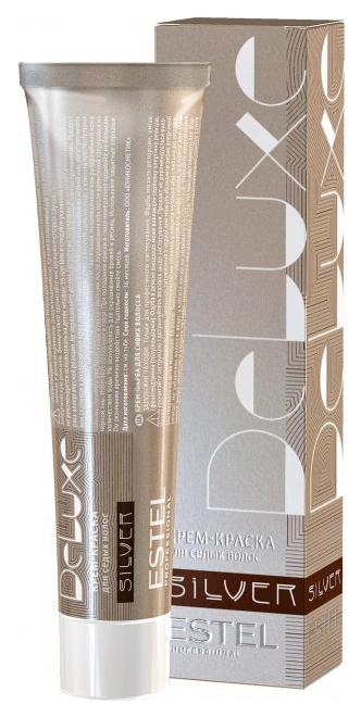 Краска для волос Estel De Luxe Silver 6/4 Темно-русый медный 60 мл