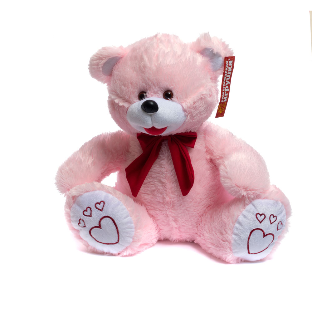Купить Мягкая игрушка Медведь цветной средний 55 см Нижегородская игрушка См-247-в-5, Мягкие игрушки животные
