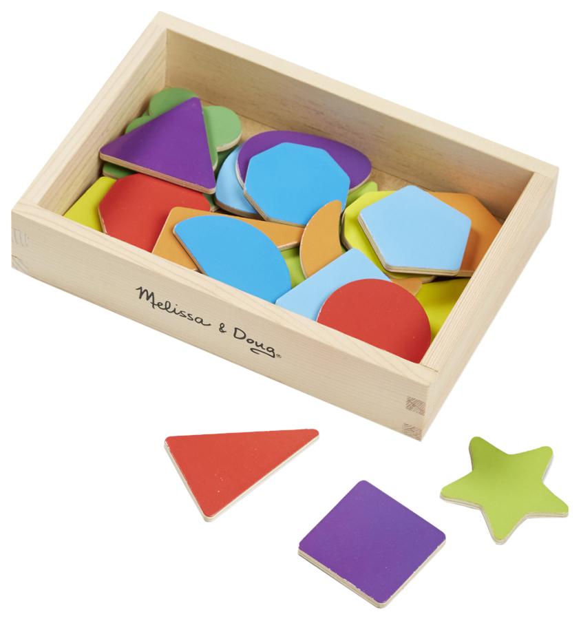 Купить Деревянная игрушка Формы и цвета Melissa&doug Магнитные игры 9277, Melissa & Doug,