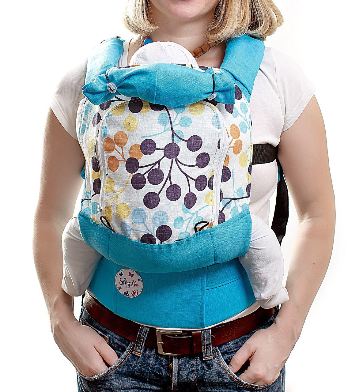 Купить Эргономичный рюкзак SlingMe Калина AIR, Рюкзак-кенгуру
