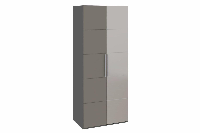Платяной шкаф Hoff Наоми 80264357 89,5х218,1х58, серый