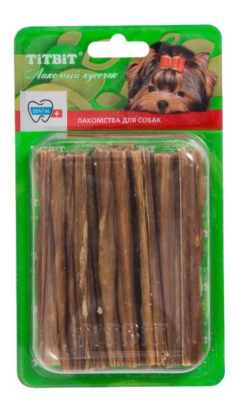 Лакомство для собак TiTBiT, кишки говяжьи Б2-M, 40г фото