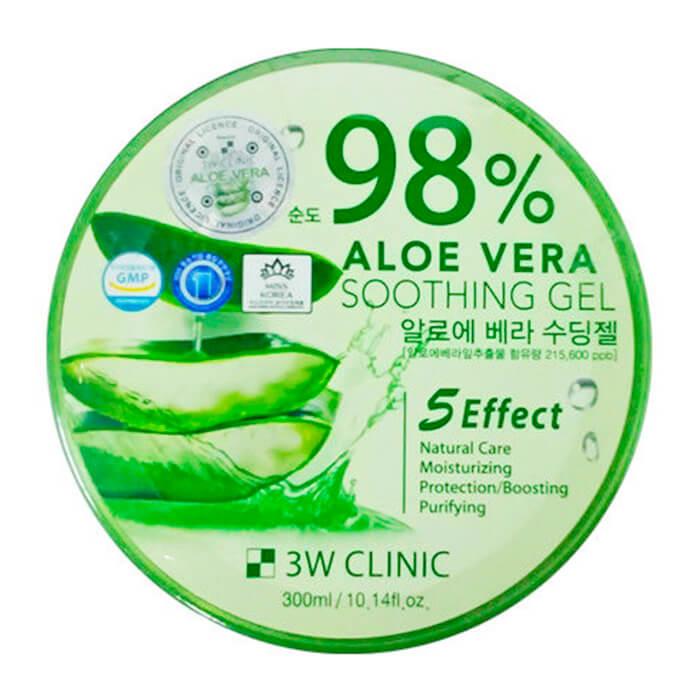 Гель для лица 3W Clinic Aloe Vera Soothing Gel 300 г
