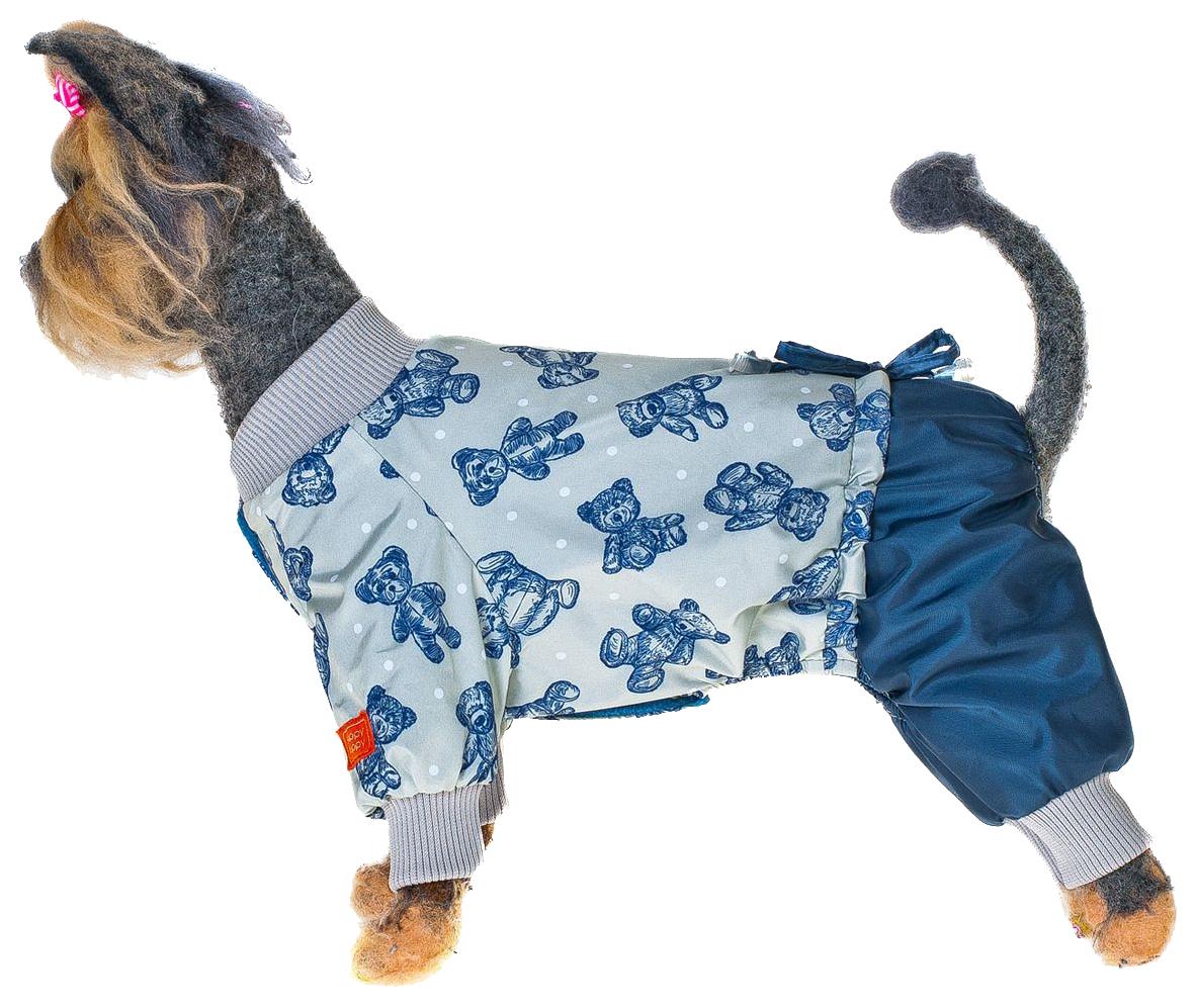 Одежда для собак Happy Puppy Мишка комбинезон, мужской, синий, L