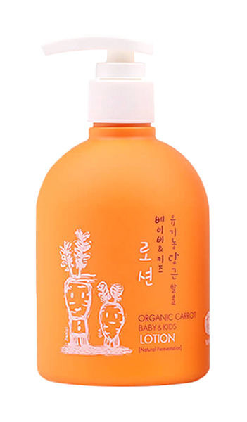 Детский лосьон для тела Whamisa Organic Carrot Baby #and# Kids Lotion 300 мл