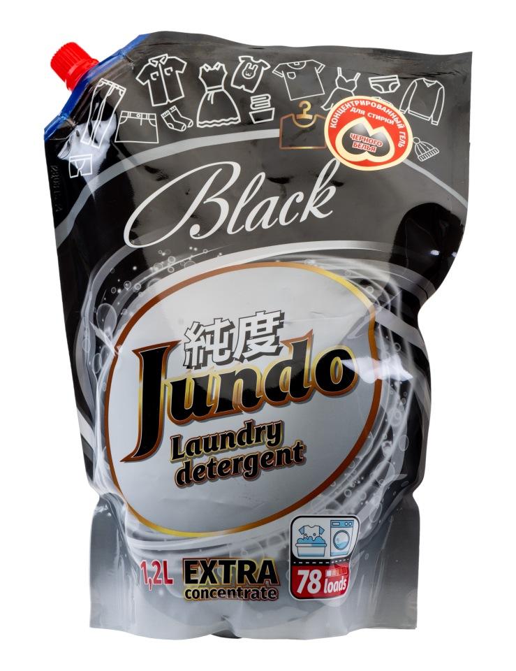 Концентрированный гель для стирки черного белья Jundo