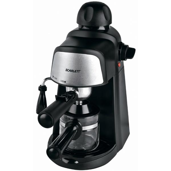 Рожковая кофеварка Scarlett SC 037 Black