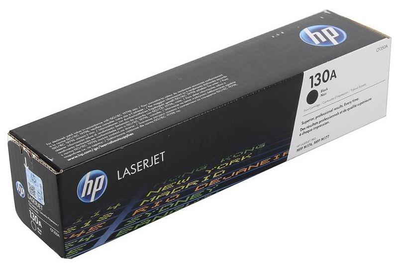 Картридж для лазерного принтера HP 130ALaserJet, черный CF350A