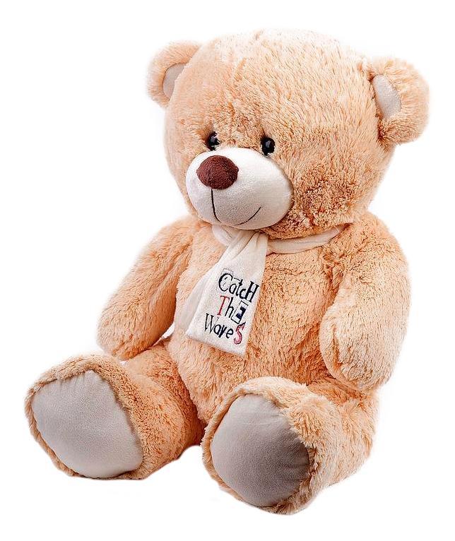 Купить Мягкая игрушка Button Blue Медведь Тишка, 30 см, Мягкие игрушки животные