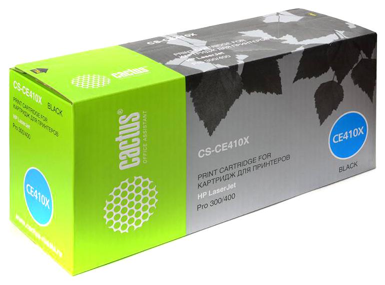 Картридж для лазерного принтера Cactus CS-CE410X черный фото