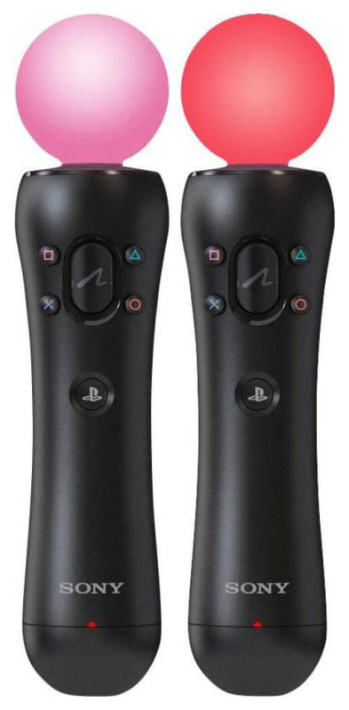 Контроллер движений Sony PlayStation Move Motion Controller 2шт Black