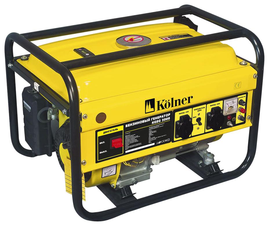 Бензиновый генератор Kolner KGEG 3000