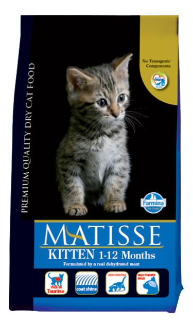Сухой корм для котят Farmina Matisse Kitten, курица, 1,5кг фото