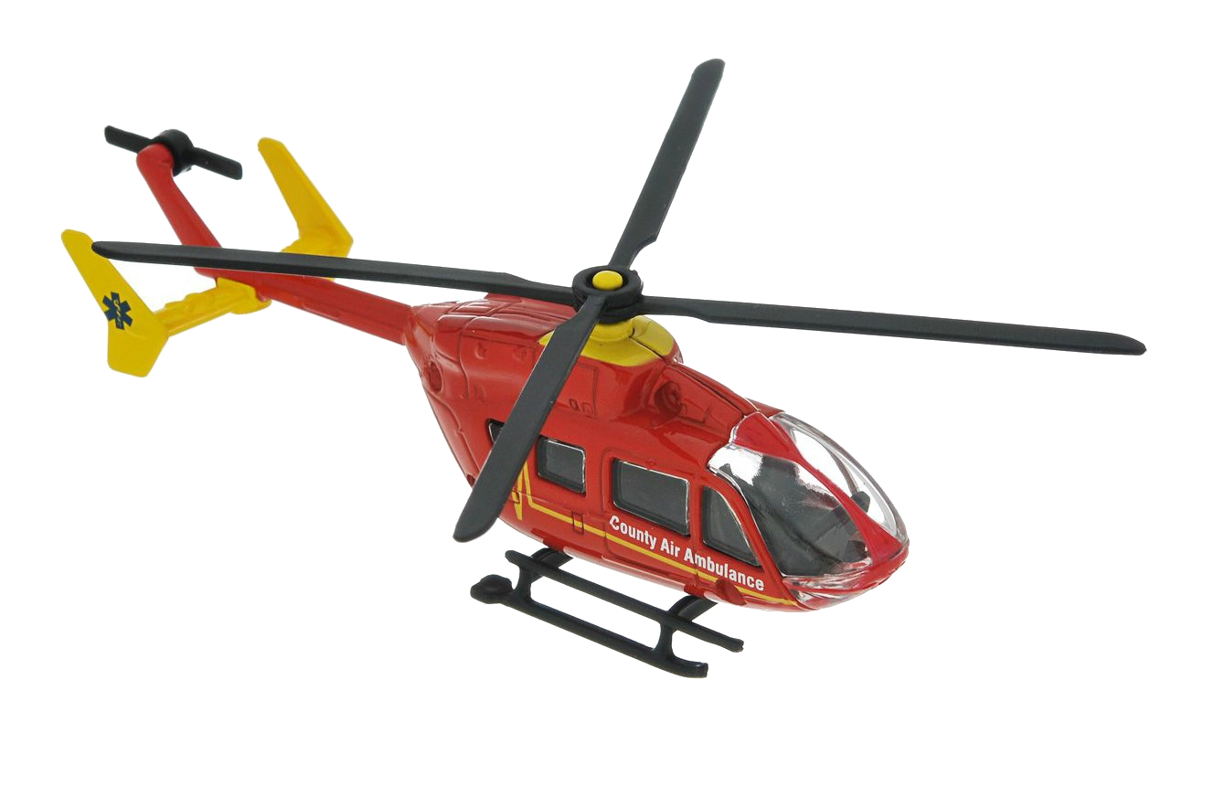 Игрушка SIKU Вертолет красный (1647)