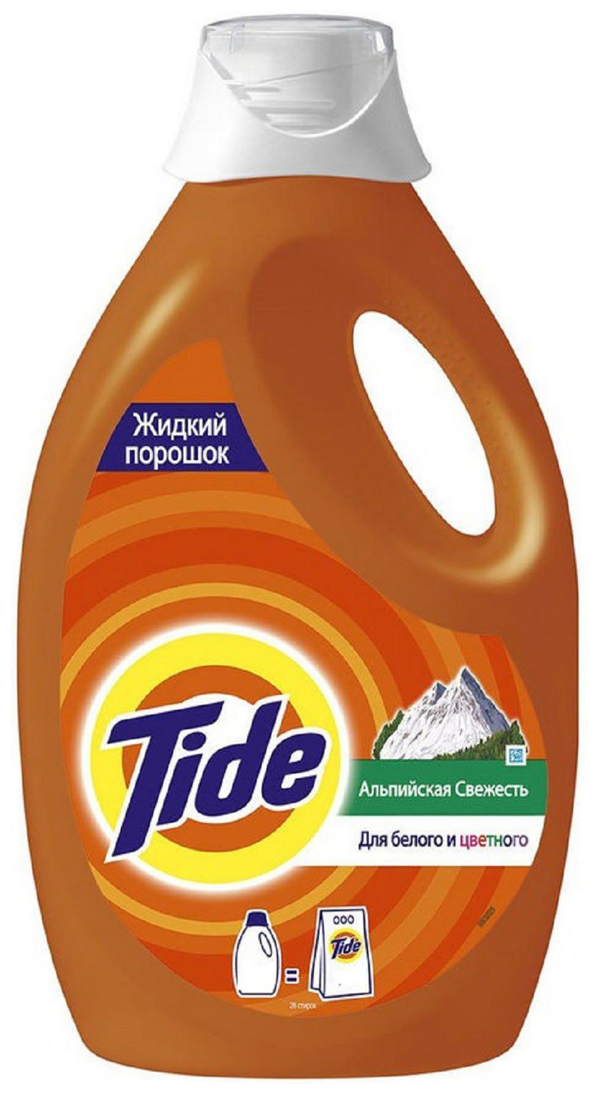 Гель для стирки Tide альпийская свежесть 0.975 л