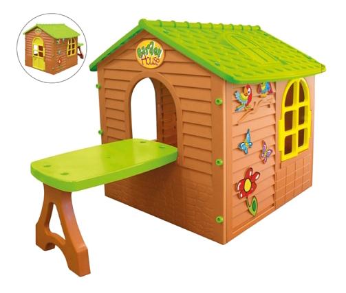 Домик Mochtoys игровой со столом