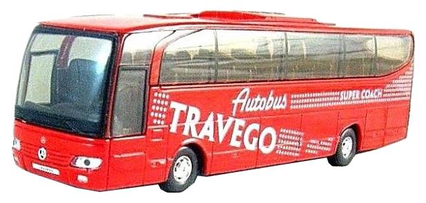 Купить MERCEDES-BENZ TRAVEGO, Коллекционная модель Welly Mercedes-Benz Автобус, Коллекционные модели