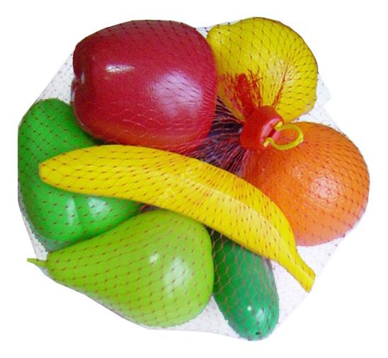 Купить Набор продуктов игрушечный Совтехстром Фрукты и овощи, Игрушечные продукты