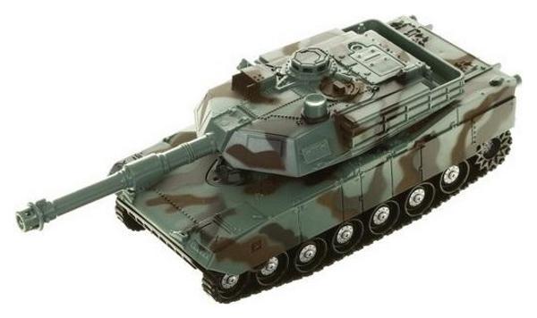 Купить Танк KLX инерционный со световыми и звуковыми эффектами 28x14x12см, Военный транспорт