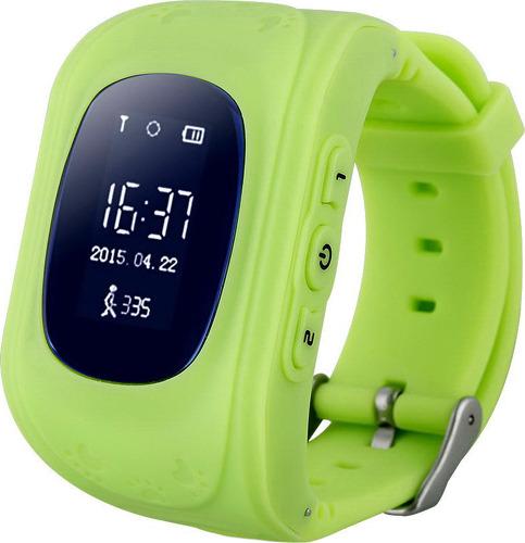 Детские смарт-часы Smart Baby Watch Q50 Green/Green