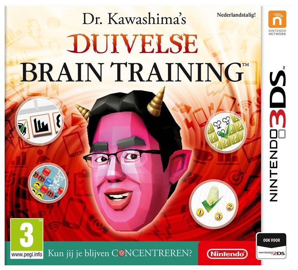 Игра Devilish Brain Training для Nintendo 3DS