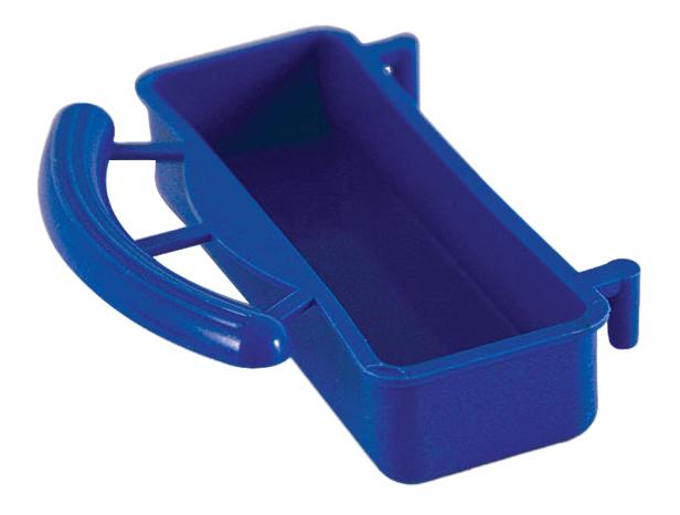 Кормушка для птиц Triol, пластик, синий, 9х6,5х2,5