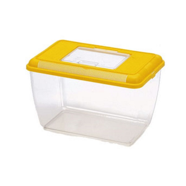 Переноска для грызунов Triol желтый пластик 30.5x20.5x26