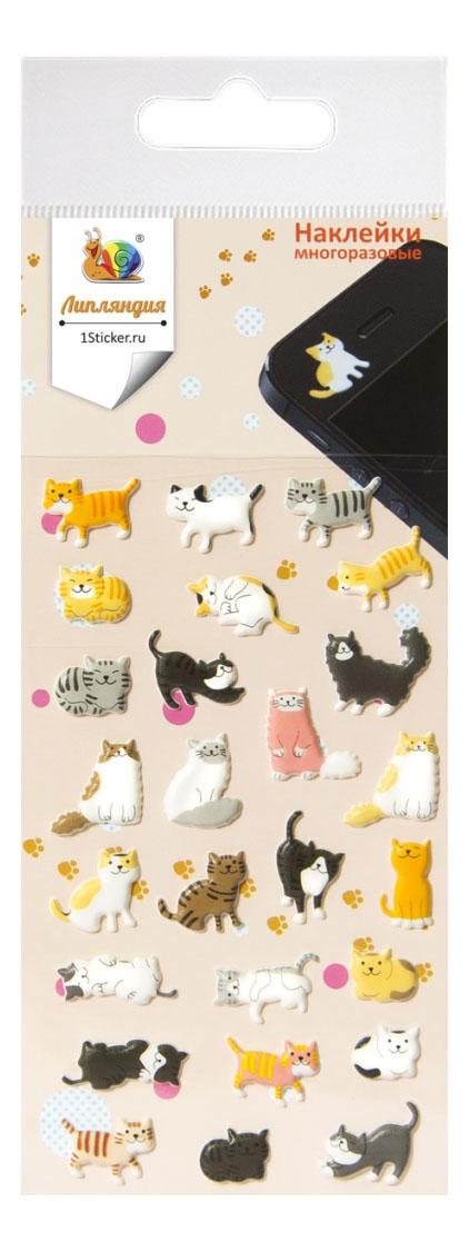 Наклейка декоративная для детской комнаты Липляндия Котята