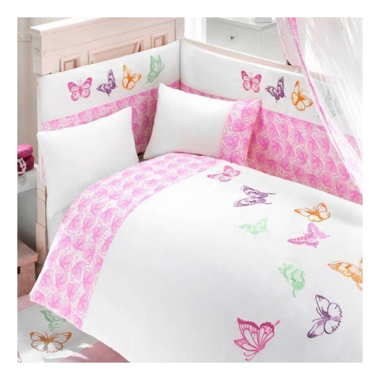 Комплект детского постельного белья Bebe Luvicci Little Wings 3 предмета