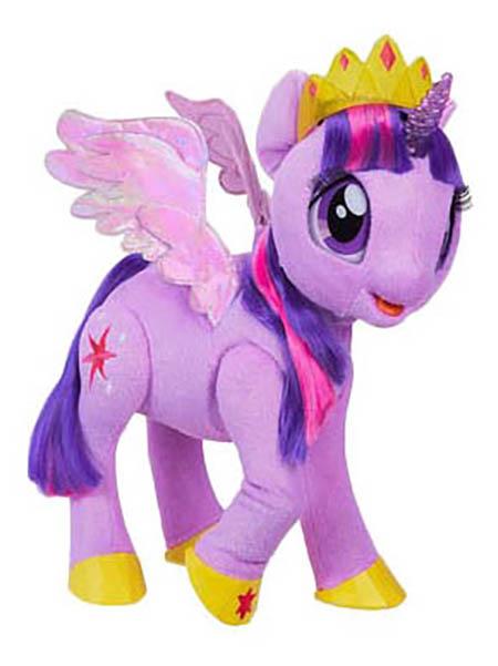Купить Интерактивная игрушка Hasbro My Little Pony Твайлайт Спаркл. Сияние, Интерактивные мягкие игрушки
