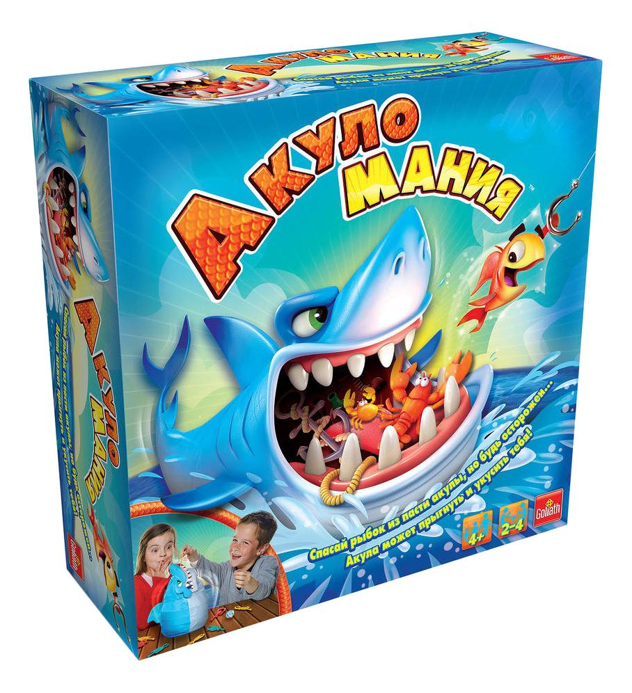 Купить Семейная настольная игра Goliath Акуломания, Семейные настольные игры