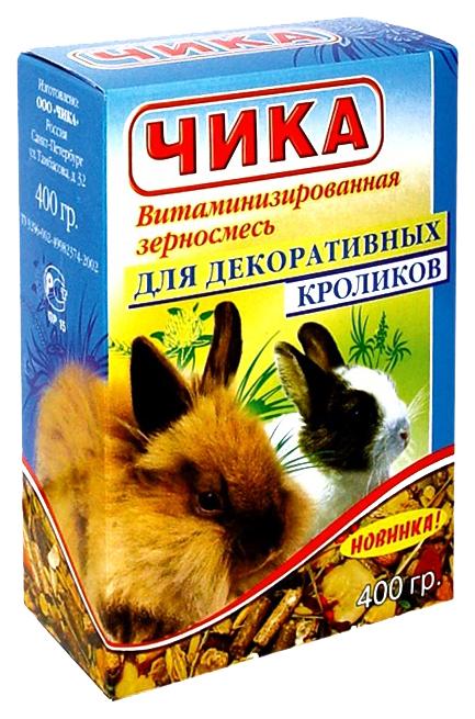Корм для кроликов Чика Витаминизированная смесь 0.4 кг 1 шт.