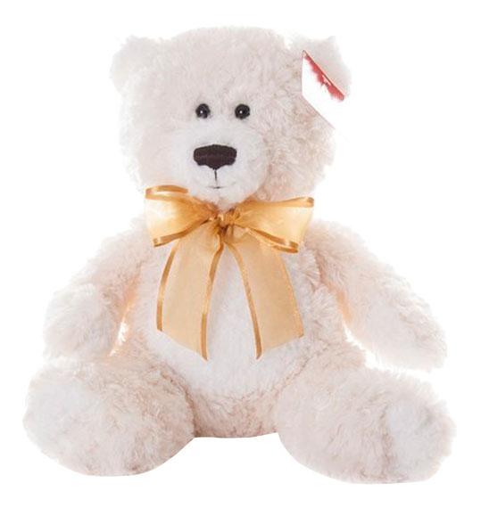 Купить Медведь кремовый 20 см, Мягкая игрушка Aurora 15-329 Медведь Кремовый, 20 см, Мягкие игрушки животные