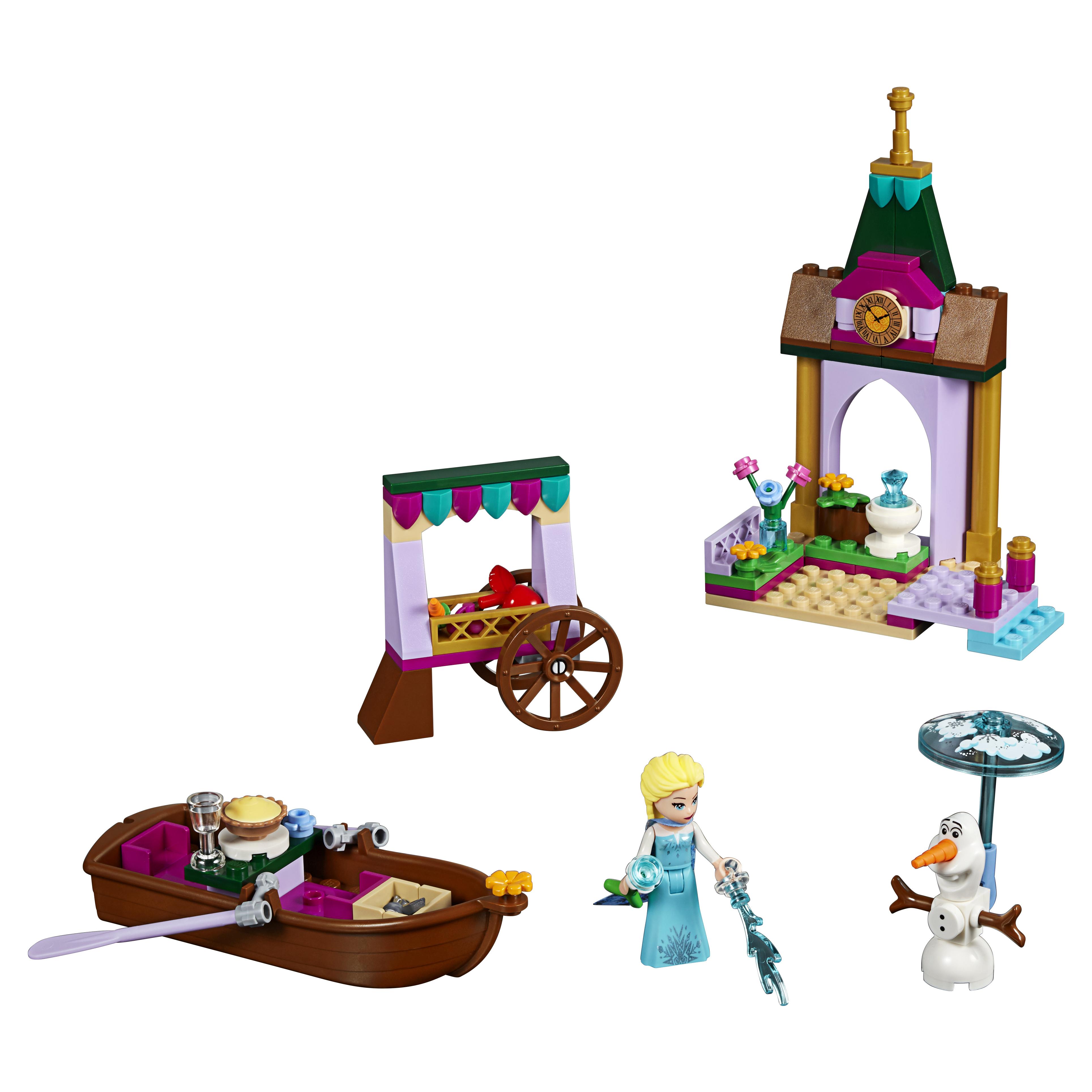 Конструктор LEGO Disney Princess Приключения Эльзы на рынке (41155) фото