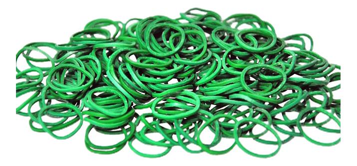 Rainbow Loom Набор резинок для плетения браслетов Rainbow Loom зеленый B0012