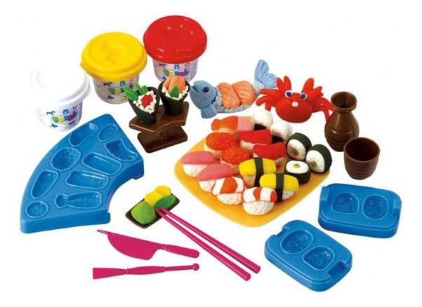 Набор для лепки из пластилина Playgo Суши