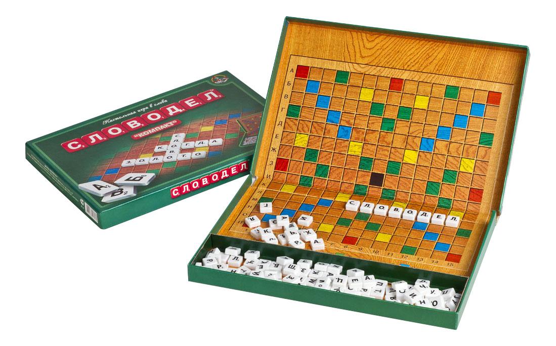 Купить Настольная игра Словодел Компакт Тридевятое царство 1357, Семейные настольные игры
