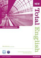 New Total English Pre-Intermediate Workbook with Key and Audio CD Pack