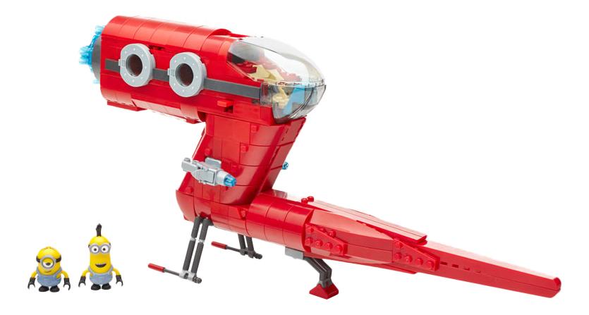 Купить Конструктор пластиковый Mega Bloks Миньоны. Суперзлодейский самолет, Конструкторы пластмассовые