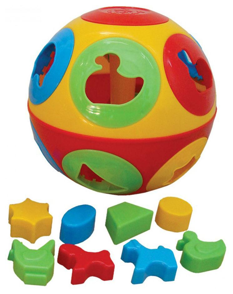 Купить Развивающая игрушка ТЕХНОК Умный малыш колобок, ТехноК,