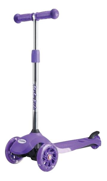 Самокат трехколесный Moby Kids Junior Light 2,0 фиолетовый