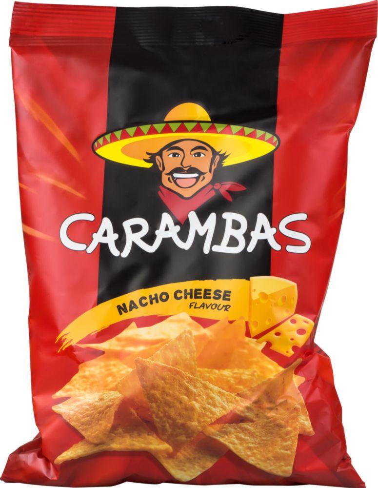 Чипсы кукурузные Carambas со вкусом сыра 150 г