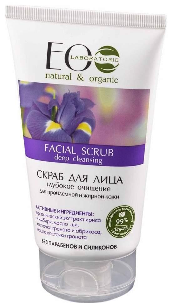 Купить Скраб для лица Ecolab Глубокое очищение для проблемной и жирной кожи 150 мл, EO LABORATORIE