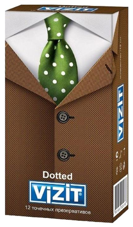 Купить Dotted, Презервативы Vizit точечные 12 шт.