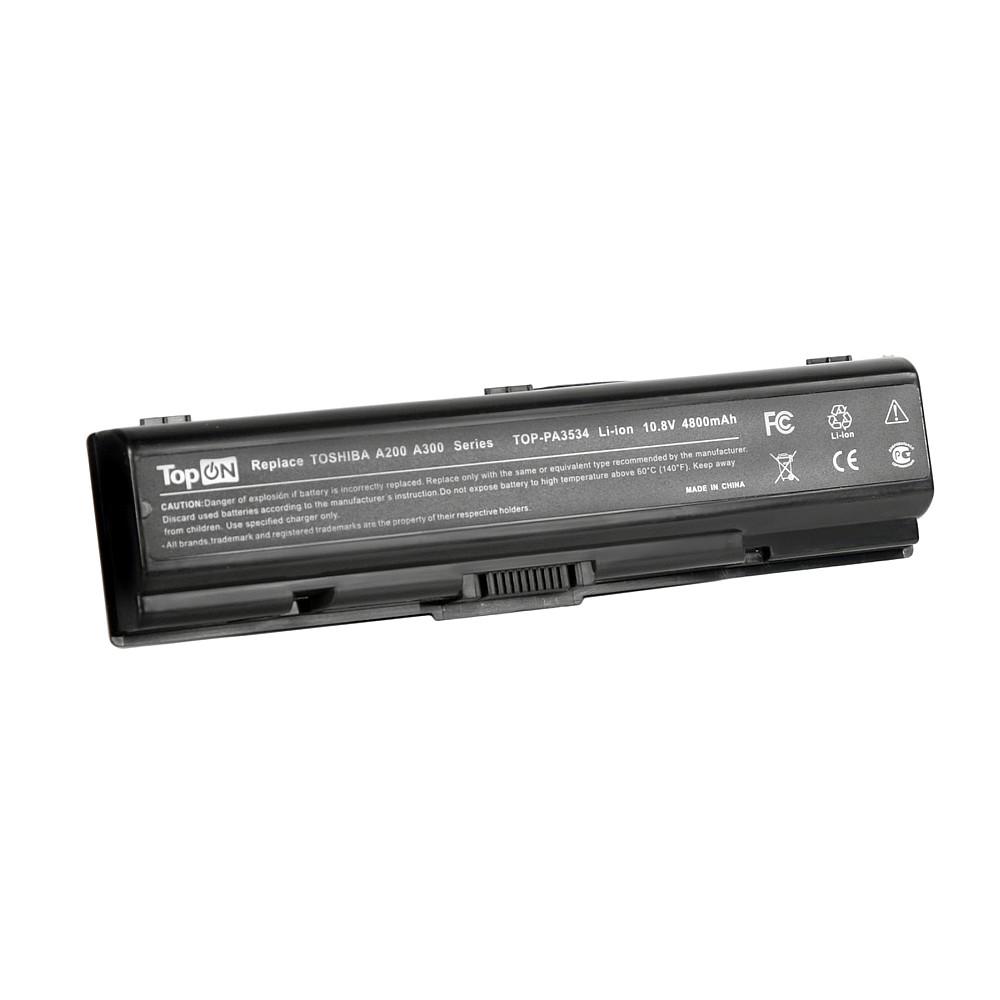 Аккумулятор для ноутбука Toshiba Satellite A200, A210, A300, A500, L200, L500, M2