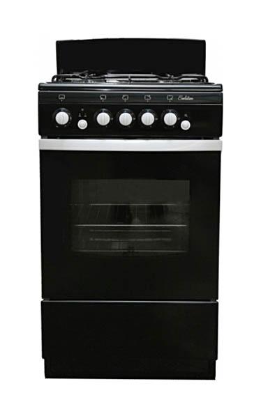 Газовая плита DeLuxe 5040.36Г(Щ) Black