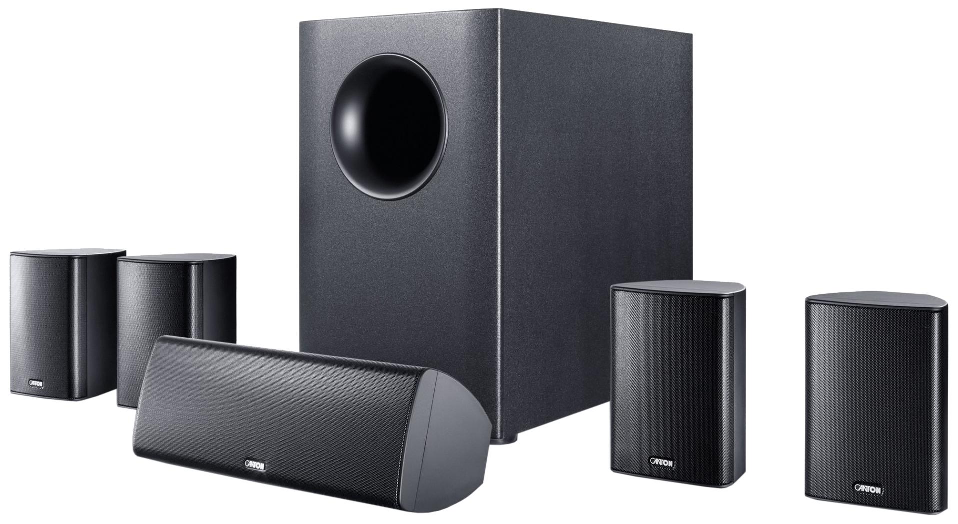 Комплект акустической системы Canton Movie 165 Вlack Movie 165 black
